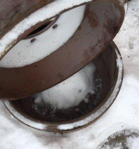 Тормозные барабаны ЗИЛ 130, новые