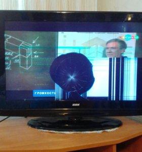Телевизор ВВК, плоский экран.