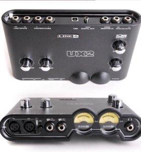 LINE6 POD STUDIO UX2 - Аудиоинтерфейс