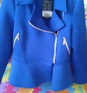 Пиджак куртка косуха жакет баска