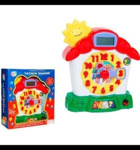 Развивающая игрушка-Часики Знаний