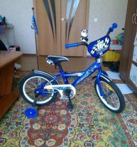 Велосипед для мальчика 4-7 лет