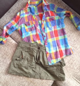 2 рубашки2 юбки