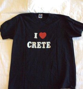 Футболка I love Crete