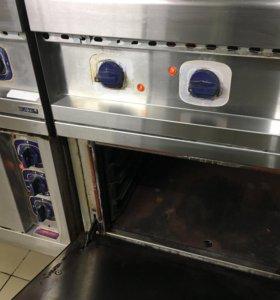 Плита электрическая Abat с жарочный шкафом ЭП-5ЖШ