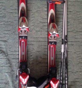 Горнолыжный комплект (лыжи проданы!)