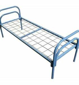 Металлическая односпальная кровать Эконом