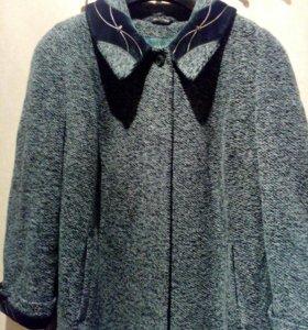 Пальто женское. Размер 66