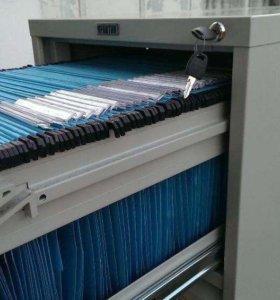 Файловый картотечный шкаф Практик ACF-04