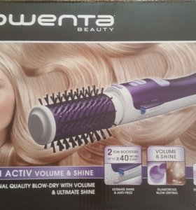 Фен-щётка Rowenta Brush activ volume & shine