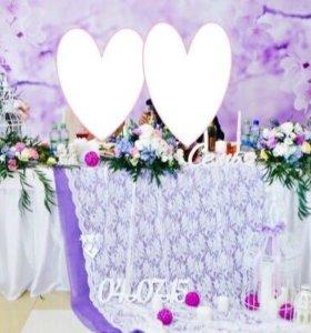Задний фон(задник) для свадьбы,баннер с фотопечать