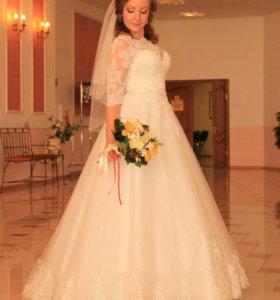 """Свадебное платье """"Моника"""" от дизайнера Евы Уткиной"""