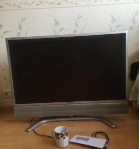 Телевизор sharp Aquos.