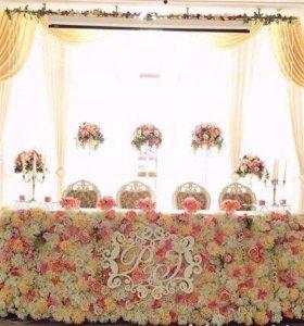 Украшение на свадьбу