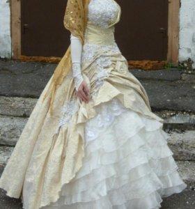 Пышные платье