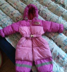 Зимний костюм на девоску