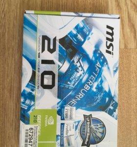 Видеокарта MSI GeForce GT 210