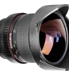 Объектив samyang 8mm f3.5