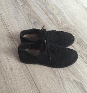 Ботинки замшевые на мальчика