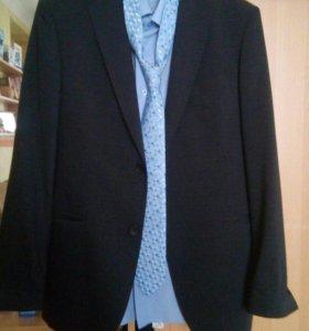 Костюм мужской, плюс рубашка и гал176-92-80 размер