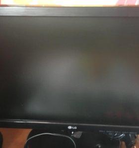 Компьютер с новым монитором