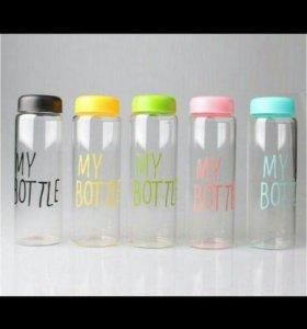 бутылочки разноцветные