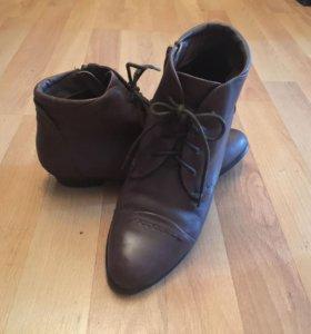 Ботинки из нат.кожи