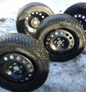 Зимние шины с диском