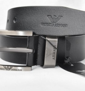 Ремень Giorgio Armani кожаный