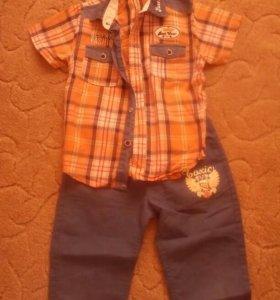 Вещи на мальчика 6-7 лет,шорты,футболки,рубашки.