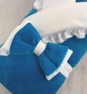 Комплект на выписку одеяло - трансформер