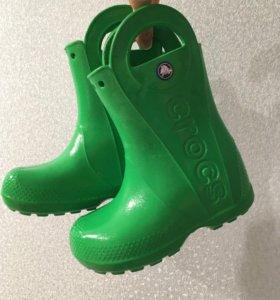 Crocs c10 Кроксы резиновые сапоги