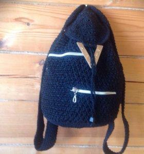 Рюкзаки вязанные