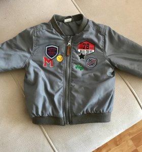 Демисезонная куртка-бомбер H&M