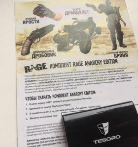 Код на доп.контент RAGE: Anarchy Edition PS3