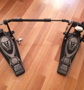 Двойная педаль для бас-барабана