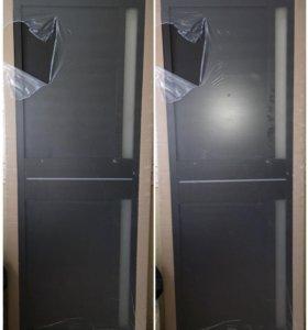 ЭКО шпон,Новая межкомнатная дверь,в упаковке