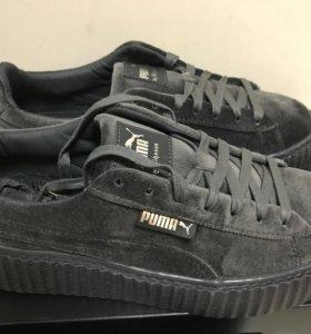 Puma Rihanna кроссовки бархат 38,5