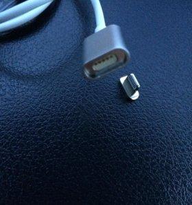Магнитная зарядка (кабель) для айфона