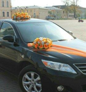 Прокат авто и украшений на свадьбу