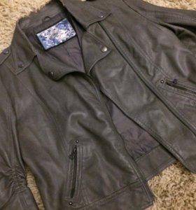 Куртка косуха кожаная