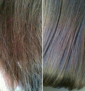 Полировка волос плюс запечатывание