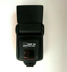 Вспышка Nikon (doerr daf-34 zoom flash)