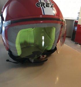Мото шлем детский