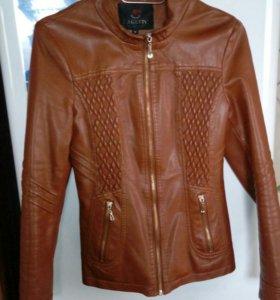 Куртка коженная