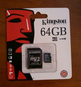 MicroSD 64 gb class 10