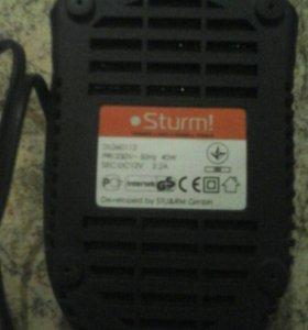 Зарядное устройство для шуруповерта  Sturm