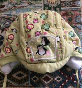 Детская зимняя шапка 48 размера
