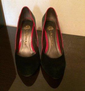 Кожаные туфли 37