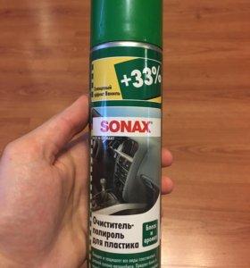 Полироль для пластика салона авто Sonax